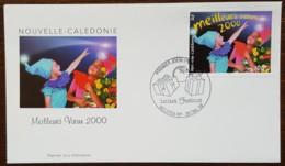 Nouvelle-Calédonie - FDC 1999 - YT N°809 - Lettres Festives / Meilleurs Voeux - FDC