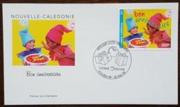 Nouvelle-Calédonie - FDC 1999 - YT N°810 - Lettres Festives / Bon Anniversaire - FDC