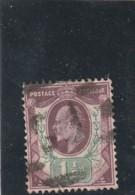 /// Grande Bretagne - N° 108 Nuance Vert Jaune  Côte  20€ - 1902-1951 (Kings)