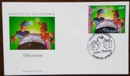 Nouvelle-Calédonie - FDC 1999 - YT N°811 - Lettres Festives / Félicitations - FDC