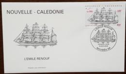 Nouvelle-Calédonie - FDC 2000 - YT N°813 - Grand Voilier L'Emile Renouf - FDC