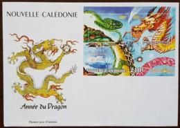 Nouvelle-Calédonie - FDC 2000 - YT BF N°23 - Année Lunaire Chinoise Du Dragon - FDC