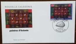 Nouvelle-Calédonie - FDC 2000 - YT N°814 - Peintres D'Océanie / Gilles Subileau - FDC