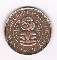 HALF PENNY 1949 NIEUW ZEELAND /2398/ - Nouvelle-Zélande