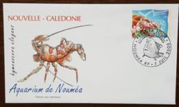 Nouvelle-Calédonie - FDC 2000 - YT N°817 - Aquarium De Nouméa / Crevette - FDC