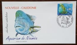 Nouvelle-Calédonie - FDC 2000 - YT N°815 - Aquarium De Nouméa / Poisson - FDC