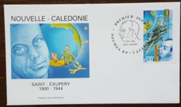 Nouvelle-Calédonie - FDC 2000 - YT Aérien N°348 - Antoine De Saint Exupéry - FDC