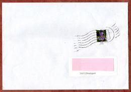 Brief, EF Schwertlilie, Innerhalb Stuttgart Ueber Briefzentrum 70, 2009 (70922) - BRD