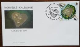 Nouvelle-Calédonie - FDC 2000 - YT N°818 - Coeur Dans La Montagne De Voh - FDC