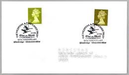 50th Anniv. THE WILDFOWL & WETLANDS TRUST - 50 Años Proteccion Humedales. Slimbridge, Gloucestershire, 1996 - Protección Del Medio Ambiente Y Del Clima