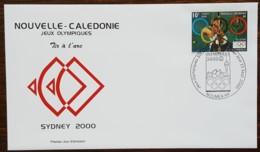 Nouvelle-Calédonie - FDC 2000 - YT N°819 - Jeux Olympiques De Sydney / Tir à L'arc - FDC
