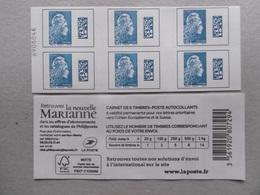 2018  BC1603-C1   MARIANNE L ENGAGEE TARIF EUROPE CARNET NON PLIE DUREE D UTILISATION TRES COURTE - Commémoratifs