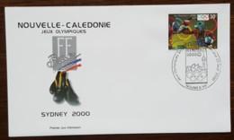 Nouvelle-Calédonie - FDC 2000 - YT N°820 - Jeux Olympiques De Sydney / Boxe - FDC