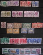 CHINE - HONG-KONG - Petit Lot De Georges VI, Timbres Fiscaux-postaux Et Divers - A VOIR - Hong Kong (...-1997)