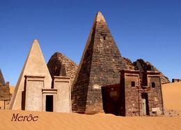 Sudan Meroe Pyramids UNESCO New Postcard - Soudan