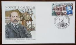 Nouvelle-Calédonie - FDC 2000 - YT N°825 - Bibliothèque Bernheim - FDC