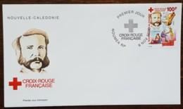 Nouvelle-Calédonie - FDC 2000 - YT N°830 - Croix Rouge - FDC