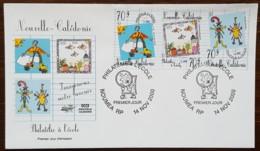 Nouvelle-Calédonie - FDC 2000 - YT N°831 à 833 - Philatélie à L'école - FDC