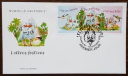 Nouvelle-Calédonie - FDC 2000 - YT N°834 - Lettres Festives / Félicitations - FDC