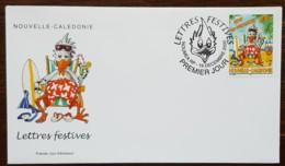 Nouvelle-Calédonie - FDC 2000 - YT N°835 - Lettres Festives / Vive Les Vacances - FDC