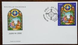 Nouvelle-Calédonie - FDC 2000 - YT N°837 - Année Sainte / Jubilé An 2000 - FDC
