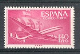 Spain 1955-6. Avion Y Carabela 1,40 Pta Ed 1174 (**) - 1931-Today: 2nd Rep - ... Juan Carlos I