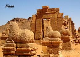 Sudan Naqa Amun Temple UNESCO New Postcard - Soudan