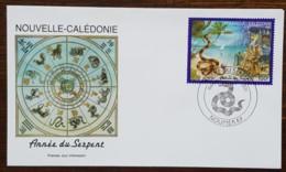 Nouvelle-Calédonie - FDC 2001 - YT N°838 - Année Du Serpent - FDC