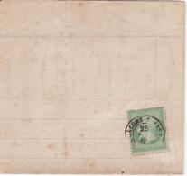 Yvert N° 20 Sur Lettre De Chalon Sur Marne - Postmark Collection (Covers)