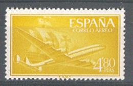 Spain 1955-6. Avion Y Carabela 4,80 Pta Ed 1176 (**) - 1931-Today: 2nd Rep - ... Juan Carlos I