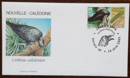 Nouvelle-Calédonie - FDC 2001 - YT N°843 - Faune / Corbeau - FDC