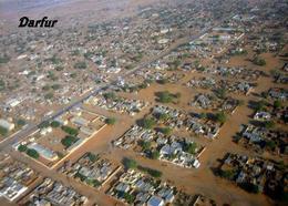 Sudan Darfur Aerial View New Postcard - Soudan