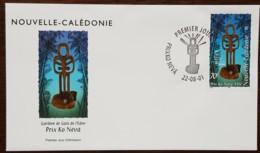 Nouvelle-Calédonie - FDC 2001 - YT N°847 - Prix Ko Névâ - FDC