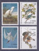 Francia 1995. YT = 2929-32 - Nuevos Sin Fijasellos (**). Los Pájaros - Francia