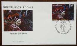 Nouvelle-Calédonie - FDC 2001 - YT N°846 - Peintres D'Océanie - FDC
