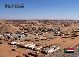 Sudan Wadi Halfa Aerial View New Postcard - Soudan