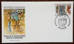 Nouvelle-Calédonie - FDC 2001 - YT N°848 - Année De La Communication Entre Les Civilisations - FDC