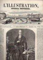 L'illustration Journal Universel N°384 Mort De Sir Robert Peel - Ascension Aérostatique De MM. Barral Et Bixio De 1850 - Journaux - Quotidiens