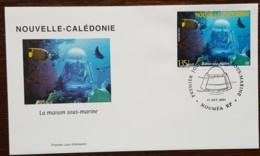 Nouvelle-Calédonie - FDC 2001 - YT N°852 - Maison Sous Marine - FDC