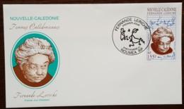 Nouvelle-Calédonie - FDC 2001 - YT N°854 - Fernande Leriche - FDC