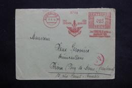 ALLEMAGNE - Affranchissement Mécanique De Augsburg Sur Enveloppe Commerciale En 1943 Pour La France - L 25438 - Allemagne