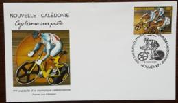 Nouvelle-Calédonie - FDC 2001 - YT N°855 - Cyclisme Sur Piste / Sport - FDC