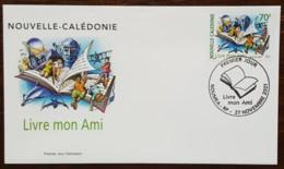 Nouvelle-Calédonie - FDC 2001 - YT N°859 - Livre Mon Ami - FDC