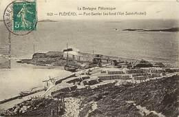 - Côtes D Armor -ref-C978-  Pléhérel - Port Barrier ( Aufond Ilot St Michel ) - Carte Bon Etat - - France