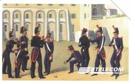 SCHEDA TELEFONICA  SCUOLA MILITARE NUNZIATELLA   SCADENZA 31/12/1999 USATA - Italia