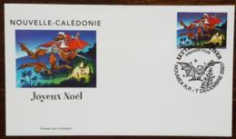 Nouvelle-Calédonie - FDC 2001 - YT N°860 - Lettres Festives / Joyeux Noël - FDC