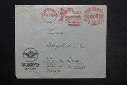 ALLEMAGNE - Affranchissement Mécanique De Remscheid Sur Enveloppe Commerciale En 1937 Pour La France - L 25439 - Allemagne