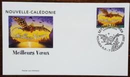 Nouvelle-Calédonie - FDC 2001 - YT N°861 - Lettres Festives / Meilleurs Voeux - FDC