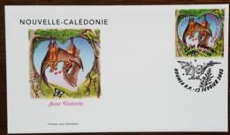 Nouvelle-Calédonie - FDC 2002 - YT N°864 - Saint Valentin - FDC