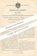 Original Patent - Theodor Albert Erichsen , Nyborg A. Fyen , Dänemark 1899 , Dachfenster   Fenster , Luke , Fensterbauer - Historische Dokumente